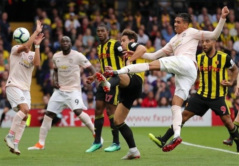 فوتبال دنیا، منچستریونایتد با قطع روند برتری های واتفورد به مدعیان نزدیک شد