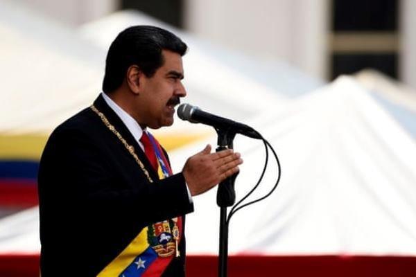 مادورو دور دوم ریاست جمهوری را باانتقاد از آمریکا واروپاآغازکرد