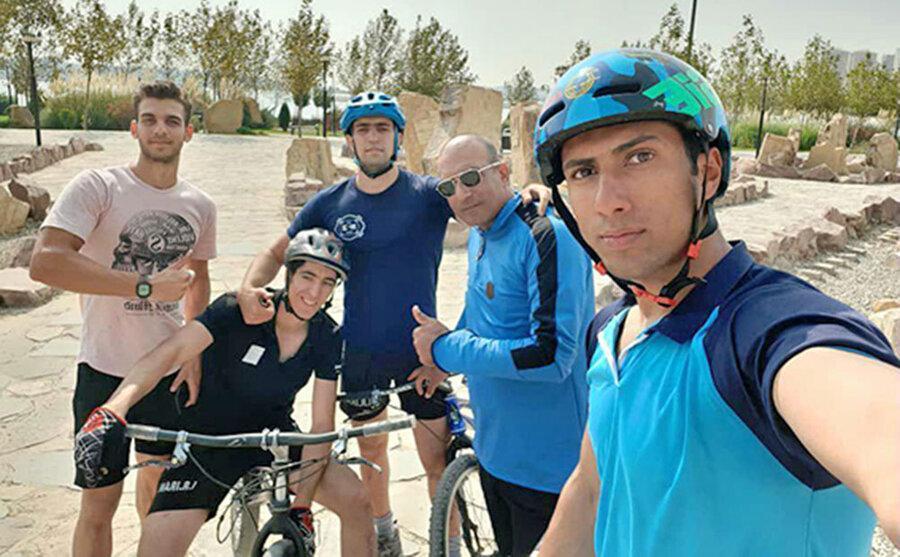 درخشش رکابزنان ایران در قهرمانی آسیا