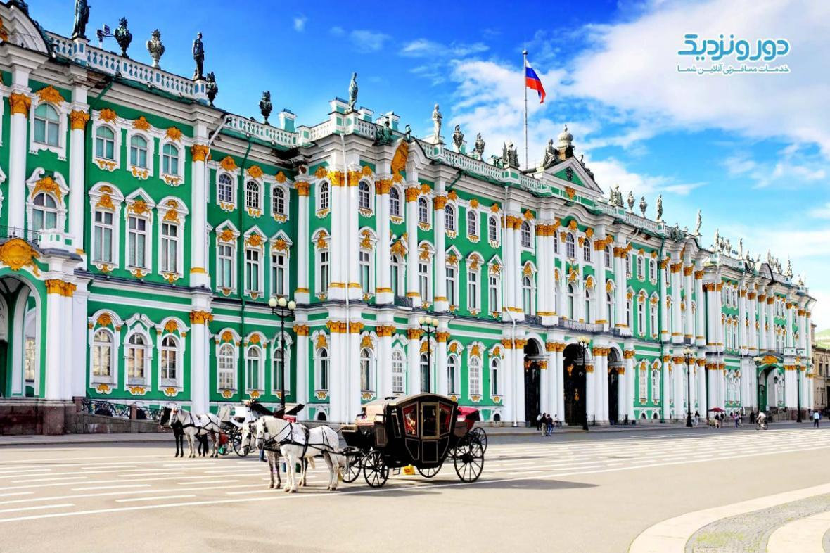 کاخ زمستانی سنت پترزبورگ
