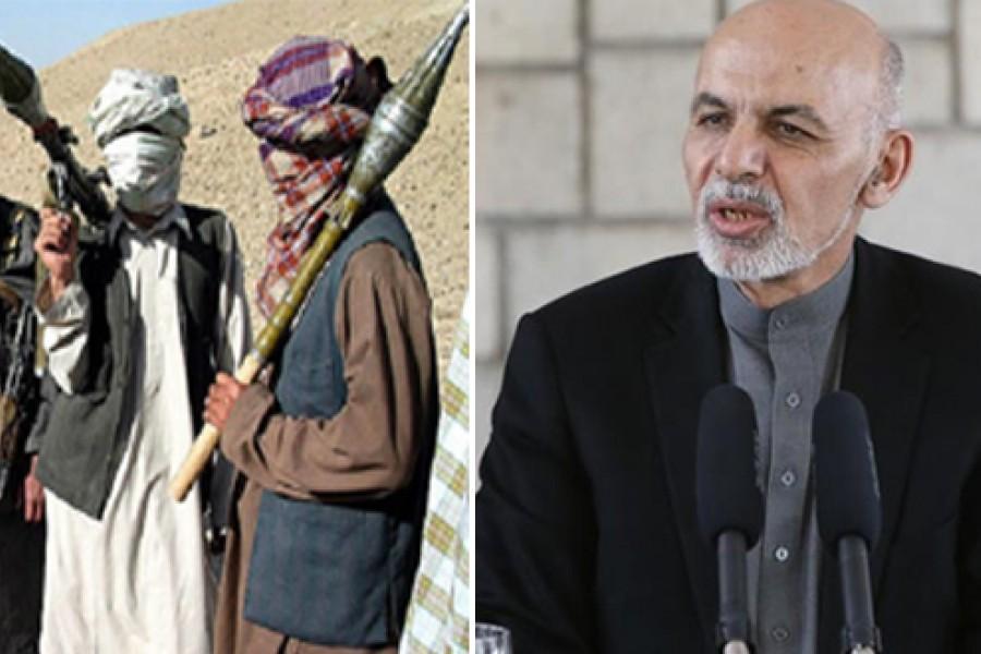 جواب رد طالبان به درخواست آتش بس اشرف غنی